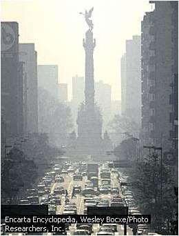 Pencemaran Udara akibat Kendaraan Bermotor