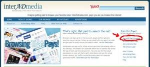 Browsing di bayar oleh INTERADMEDIA